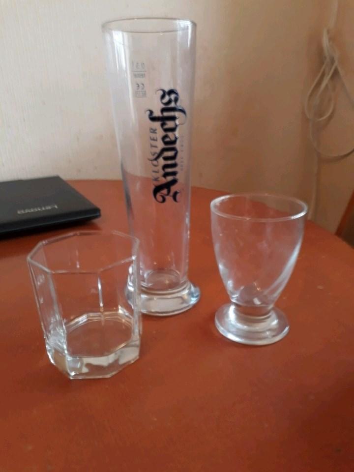Кружки, бокалы, рюмки