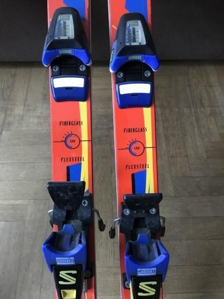 Лыжи горные классические отдаю