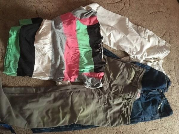 Мужская одежда размера XL. Коньково