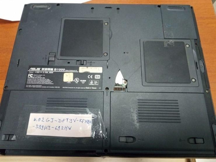 Ноутбук ASUS B-1000, дефектный!