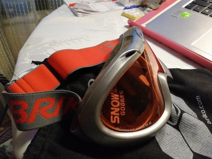 Отдаётся даром лыжная/сноуборд маска BRICO (б/у)