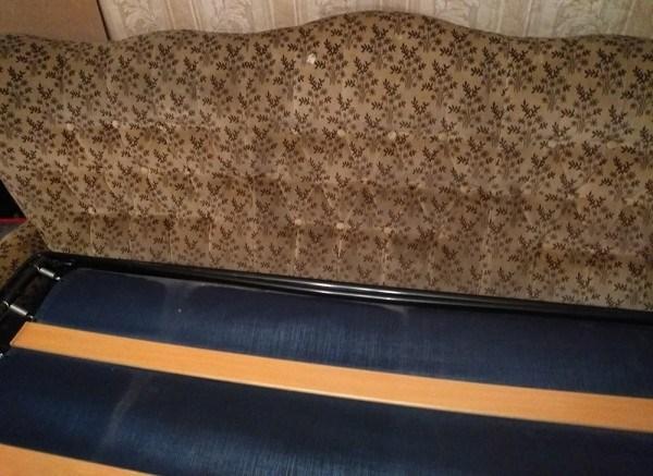 Отдам диван-раскладушку. Размеры: 195*90*95 (Москва, Тушино)